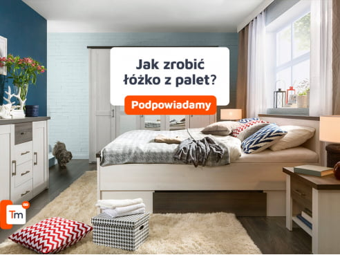 Jak zrobić łóżko z palet?