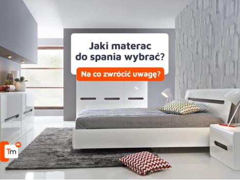 Jaki materac do spania?