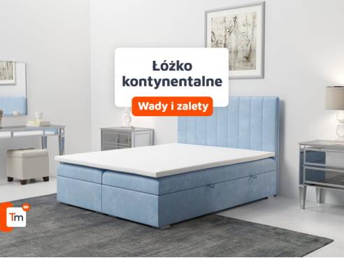 Łóżko kontynentalne – co to za łóżko? Zalety i wady łóżek kontynentalnych