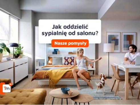 Jak oddzielić sypialnię od salonu? Zdjęcia, pomysły, inspiracje